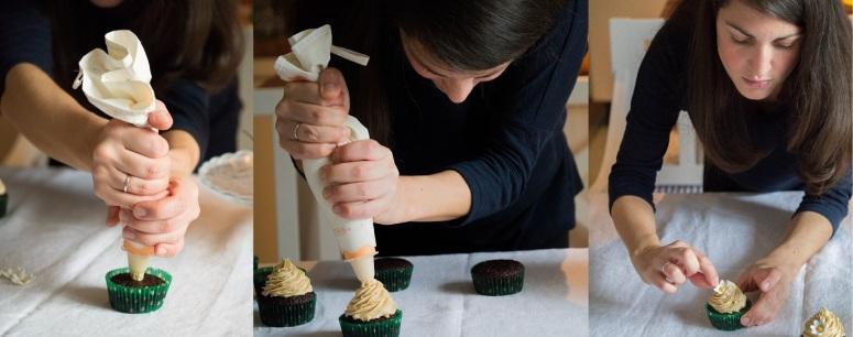Cup Cakes_Frosting aufdressieren