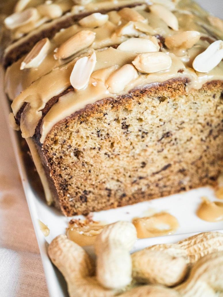 banana bread & peanut glaze-8